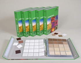 Compact Color Communication Tool & Fabric Color Swatches |Color Book ...